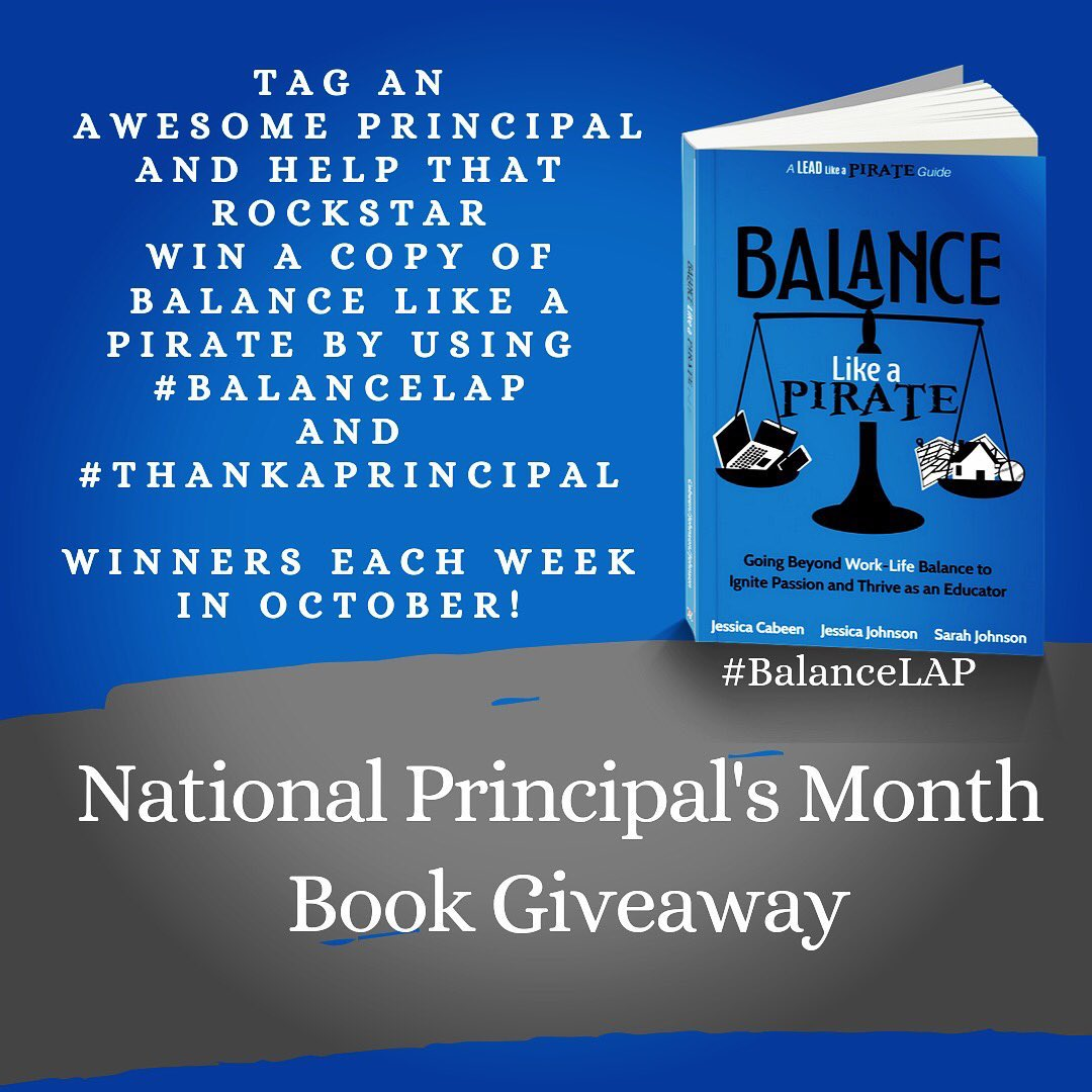 Principals are working harder than ever and deserve support and encouragement! Let's join together and acknowledge their hard work with @NASSP #ThankAPrincipal throughout October.   Let's show our collective appreciation for their service! #BalanceLAP #LeadLAP https://t.co/dtWEVSSRIz