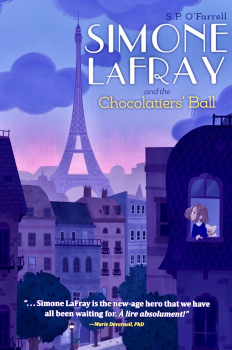 "@noshchefjulie #WhatToReadThisWeekend   ""A picturesque summer in #Paris turns less than sweet as disaster threatens a famed #patisserie"" @PublishersWkly   #SimoneLaFray and the Red Wolves of London drops 2021  ⭐️⭐️⭐️⭐️⭐️ #SimoneLaFray  https://t.co/5LuG3lk5Kh https://t.co/iMPtoKBHvp"