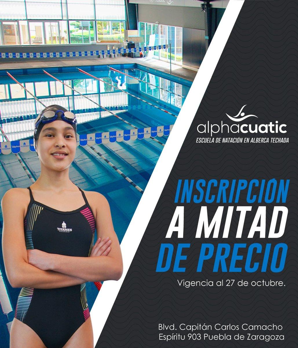 ¡Aprende a nadar en #alphacuatic! Contamos con clases para todas las edades desde niños hasta adultos en instalaciones de primer nivel y maestros especializados. #Natación #Puebla https://t.co/GF7ZkVKvXe