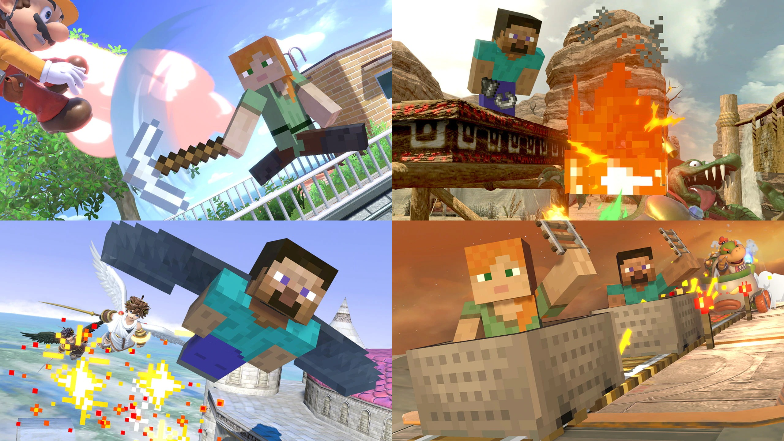 Cinematicas minecraft