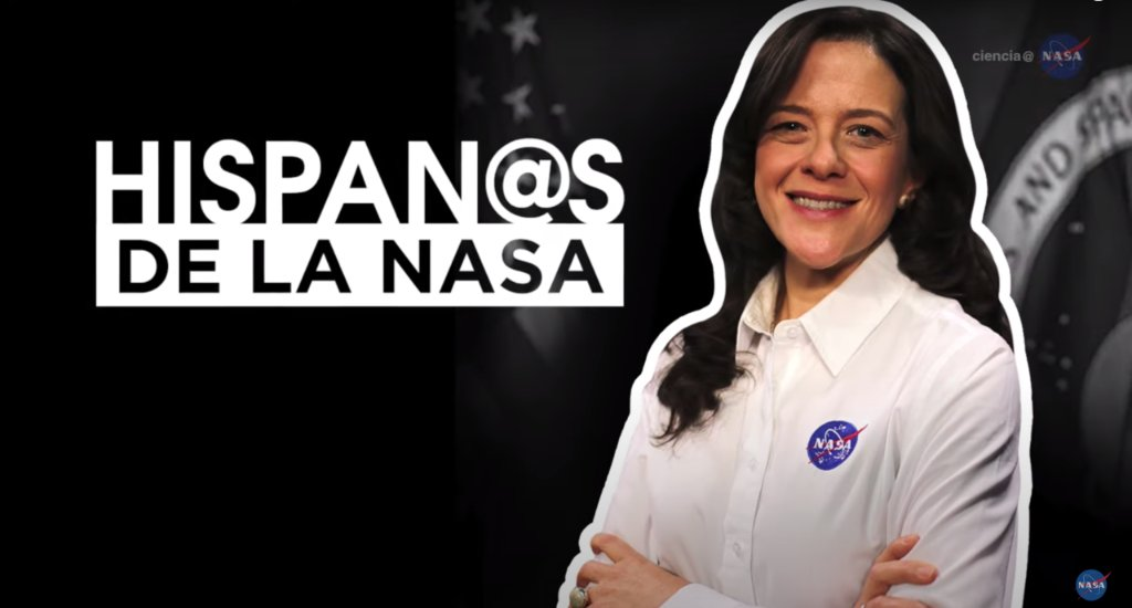 Teresa Nieves-Chinchilla is a scientist at @NASAGoddard who studies the solar magnetic field and solar storms and works on the #SolarOrbiter mission. Meet Teresa (in Spanish with English captions): youtu.be/o0Wakw6NzU4 #HispanicHeritageMonth