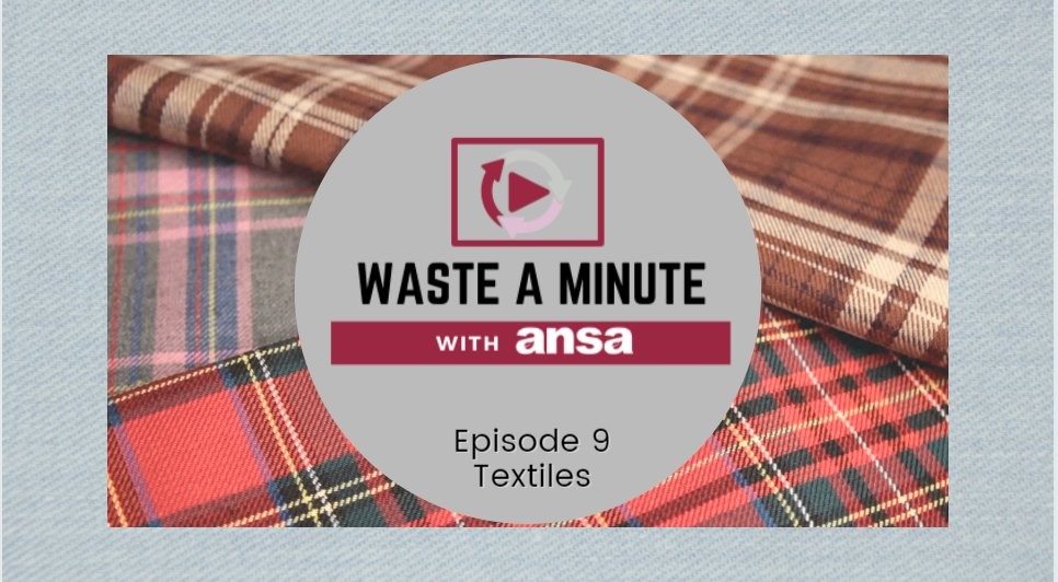 Welcome to Episode 9 of our Waste a minute series. In this episode Lisa and Alison focus on textile recycling: https://t.co/MFcbE0EmbN #Secondhand #textiles #recycle #reuse #clothes https://t.co/A1w6oMTqz0