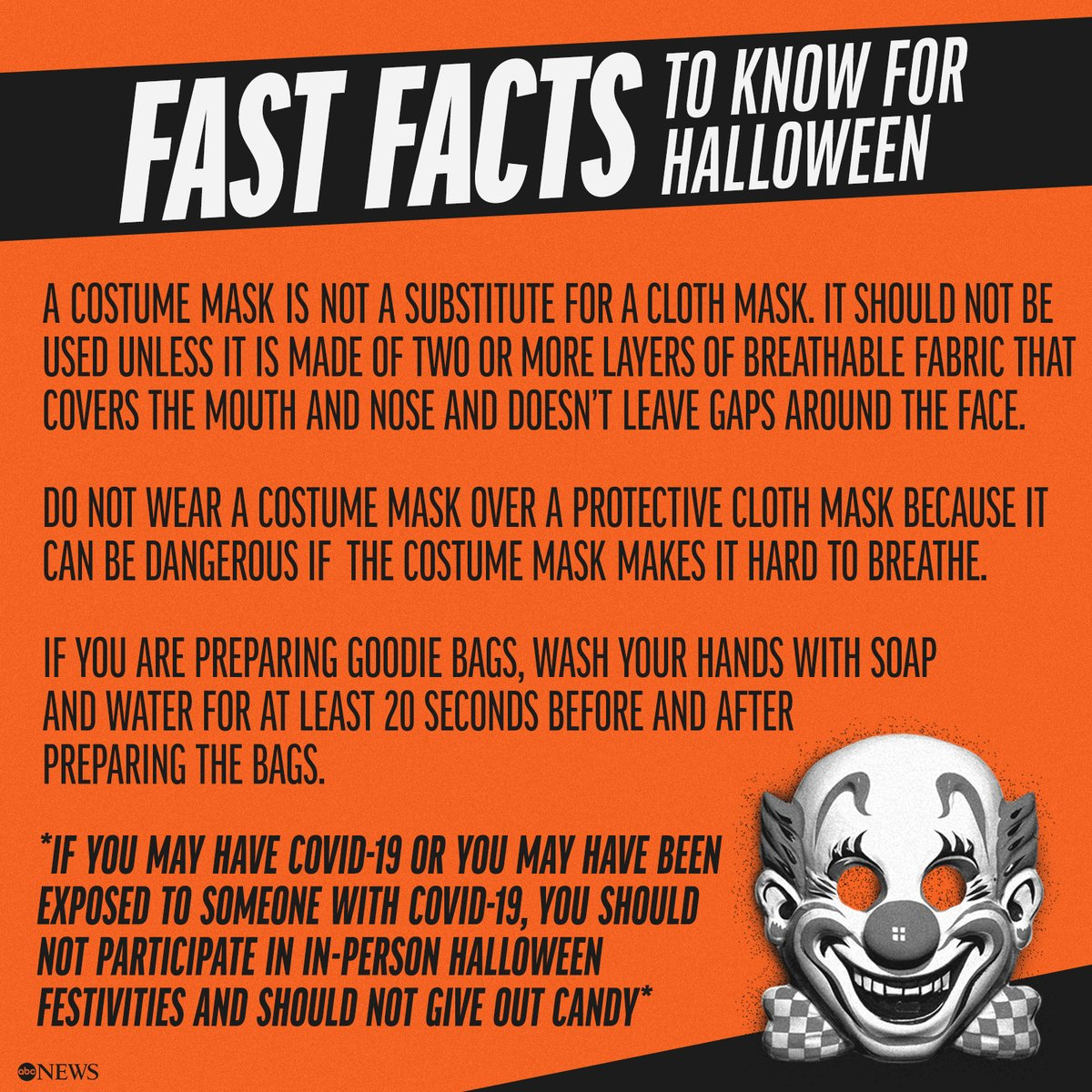 Halloween will need to be done differently this year in order to keep people safe amid the coronavirus pandemic. Here are the CDC's guidelines on how to celebrate safely.