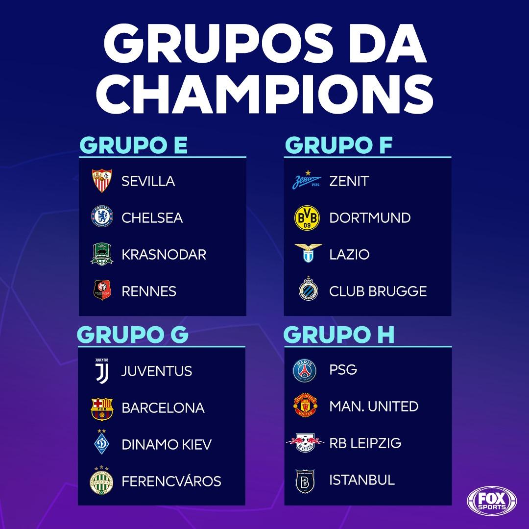 O que acharam dos grupos da Champions League? EjQa5piWkAI1uy6?format=jpg&name=medium