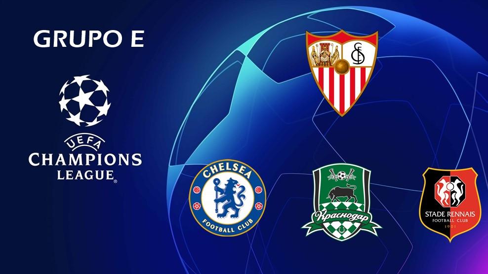 Sevilla Fc Jose M On Twitter 𝗚𝗥𝗨𝗣𝗢 𝗘 Sevilla Chelsea Krasnodar Rennes Ucl Ucldraw