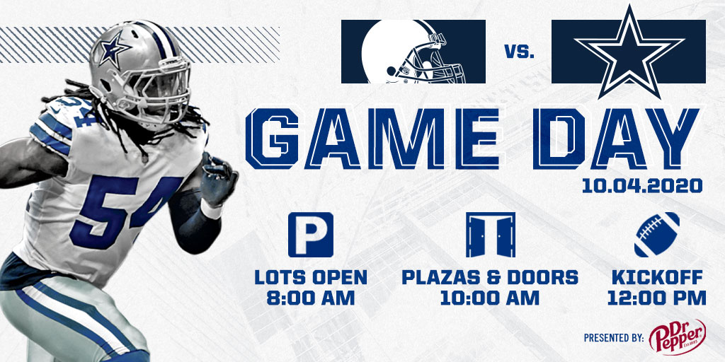 IT'S #DALLASCOWBOYS GAME DAY ❕❕❕ #CLEvsDAL | #CowboysNation | @drpepper