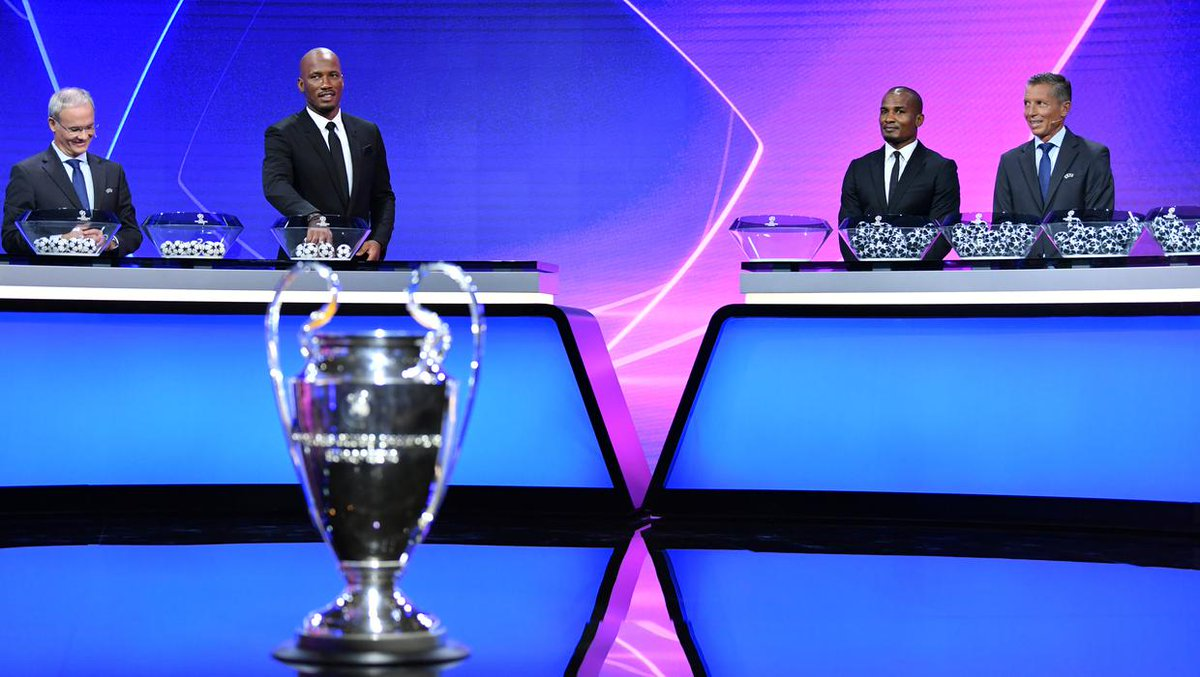There were some exciting Champions League groups drawn in Geneva this evening ⚽ ow.ly/1Olt50BGPVN