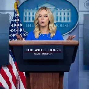 WATCH: White House press secretary Kayleigh McEnany defends President Trump's comments on white supremacy at combative briefing