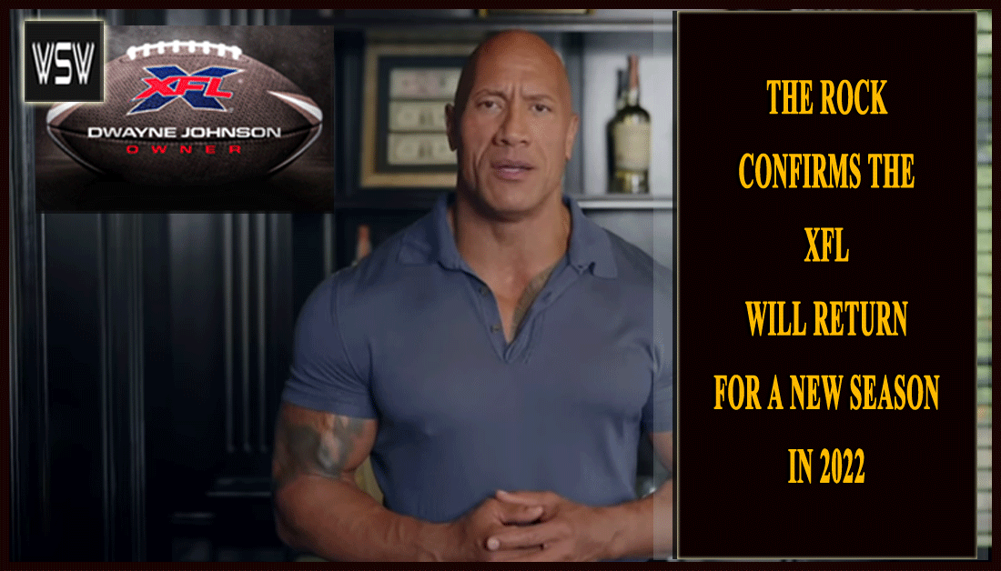 "Dwayne ""The Rock"" Johnson and his business partner #DanyGarcia have confirmed that the #XFL will return for a new season in 2022.  🏈 Finally, #TheRock says the XFL is coming back!! 🤨  Read more including a message from #DwayneJohnson ⏩"