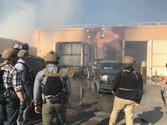 Several DSS special agents used their prior-military experience to defend the @USEmbBaghdad when Iraqi protesters attacked on New Year's Eve 2019. Learn about it from the veteran DSS special agents who were there in @AmericanMilUs In Military: inmilitary.com/veteran-to-dss…