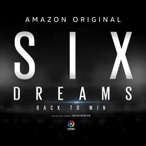 ¡LLEGA EL ESTRENO! 🚨🙌  📽 ¡Disfruta ya de #SixDreams2, producida por @themdpstudio, en @PrimeVideoES!   😍⚽ Seis historias de #LaLigaSantander que te llegarán al corazón...