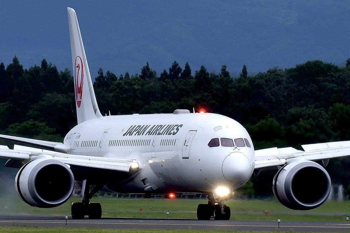 JAL   Boeing 787-8 (788)  いわて花巻空港✈️にて撮影  2019 いわて花巻空港発ホノルル行きチャーター機  #JAL #いわて花巻空港 #Boeing788  ©︎ Shinji-Chida https://t.co/UbG2ZiFFVB