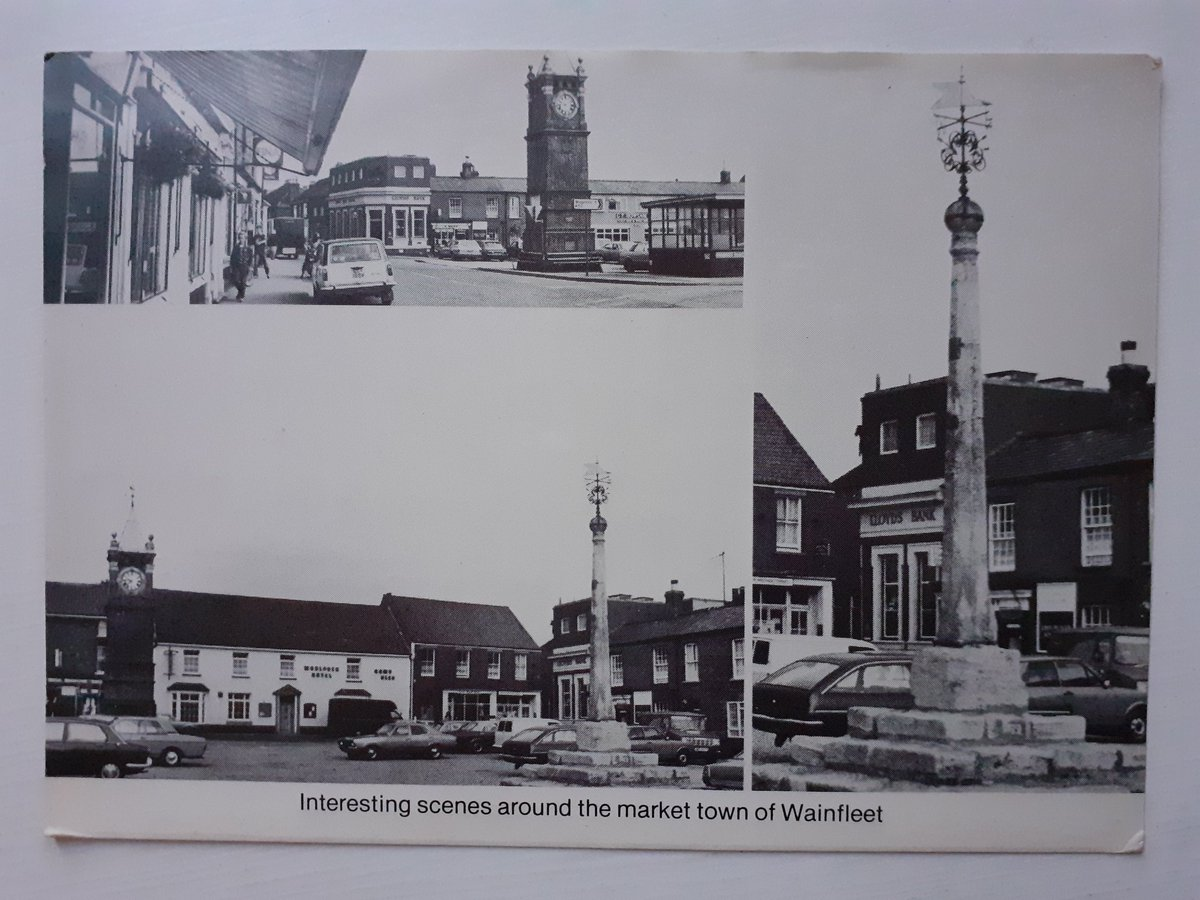 There are some interesting scenes in Wainfleet A squat clock tower under which we can meet There are car parking spaces Licenced watering places And a bus shelter complete with a seat.  #NationalPoetryDay #WorldPostcardDay  #Lincolnshire   @MelanieHolmes40 👍 https://t.co/VCO2Qhh475