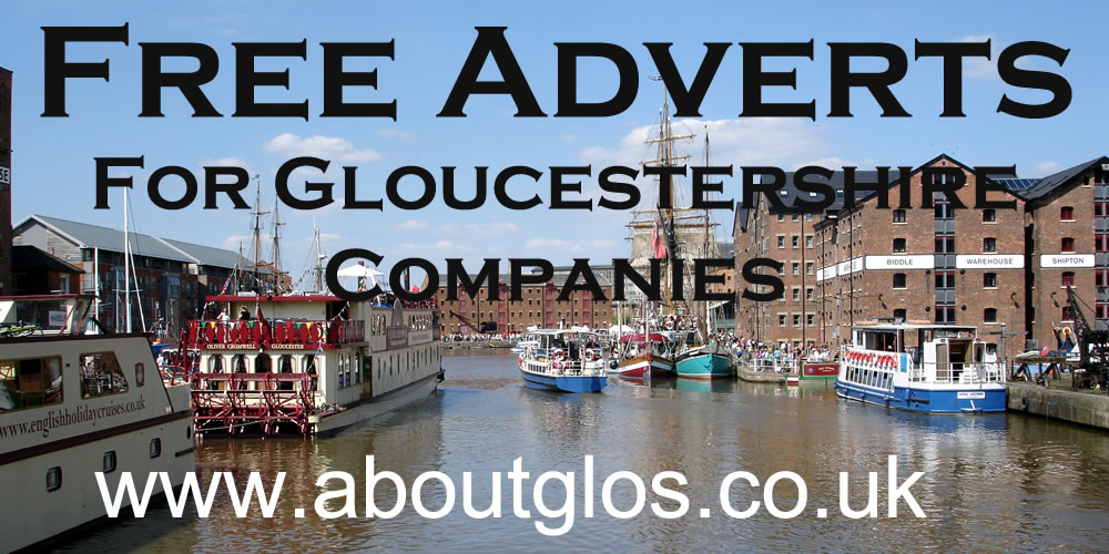 Just to let you know free adverts are available on the @AboutGlos Website. Suitable for #gloucestershire companies, organisations, charities and freelancers.    If you add details using the form on the website.  https://t.co/TgHx6hdg4m #glosbiz #gloshour https://t.co/ut7lpgXUEO