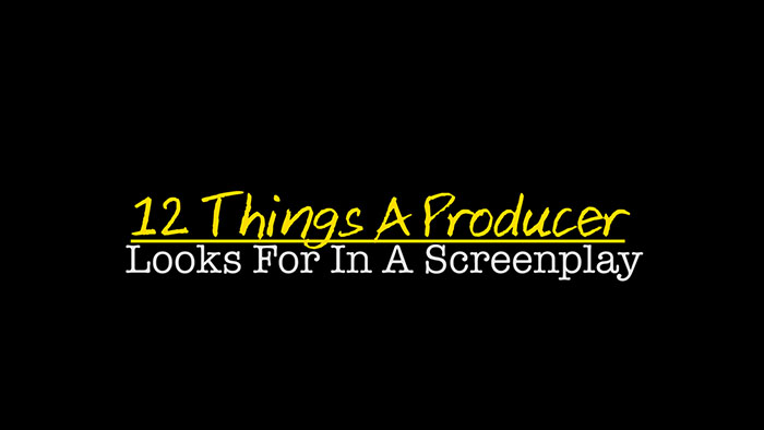 12 Things A #Producer Looks For In A #Screenplay https://t.co/JANxkfy5h6 #filmcommunity #filmmaking #screenwriting https://t.co/6K3uG1dY0N