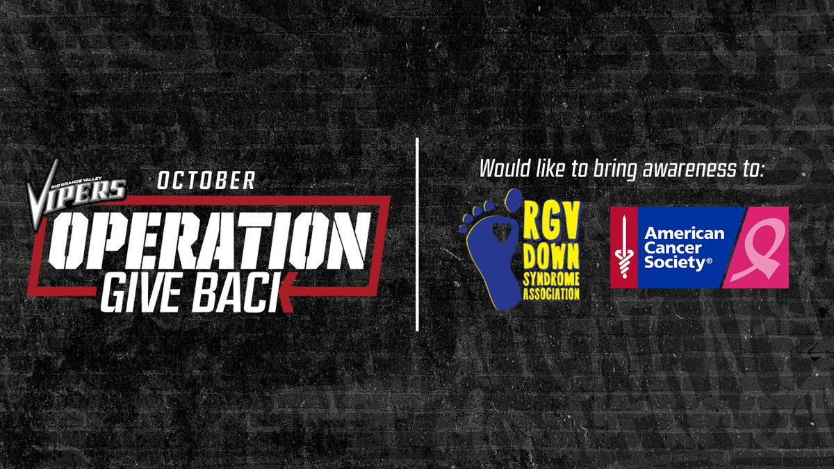 We are happy to introduce #OperationGiveback! A new community initiative which will focus on bringing awareness to local nonprofit organizations in the RGV. #NBACares #NBATogether #RGVVipers #NBAGLeague https://t.co/D46bUVmXJv