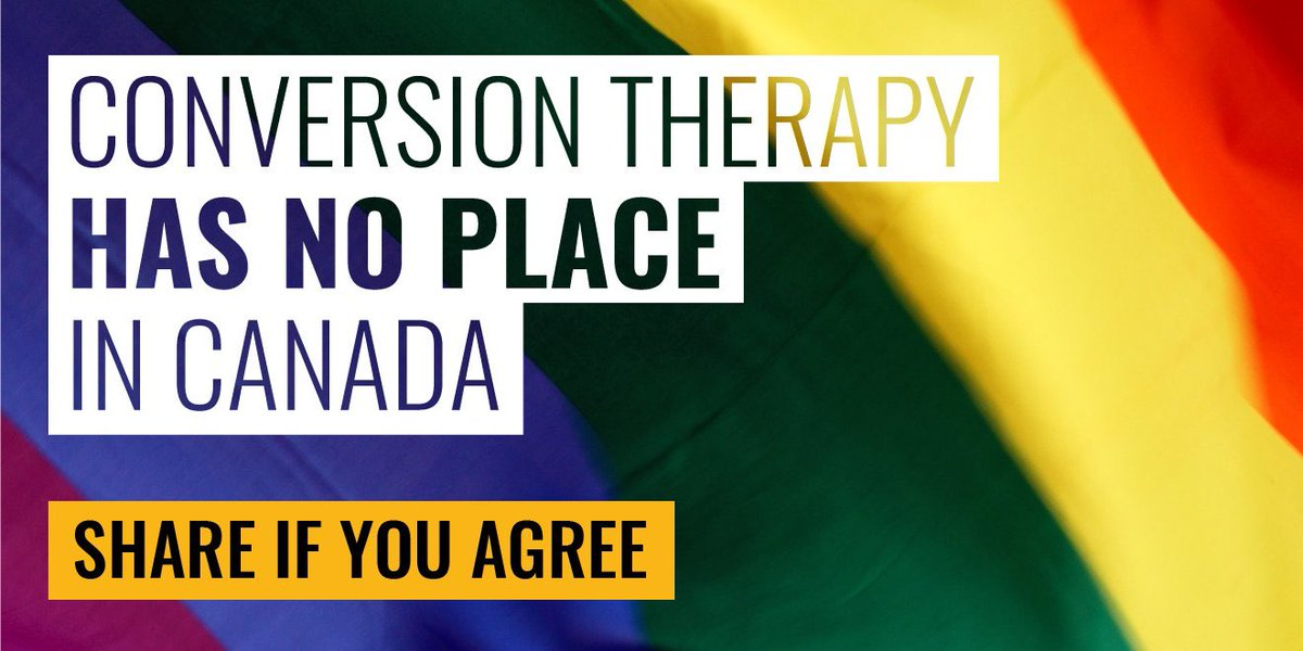 In an important step, the Government of Canada reintroduced Bill C-6, which proposes to criminalize forced conversion therapy. This practice is destructive and harmful, and it has no place in our country. 🇨🇦 #LGBTQ #LGBTI 🏳️‍🌈 #HumanRights @DavidLametti @BardishKW @HedyFry https://t.co/bp1wO6ZZZJ