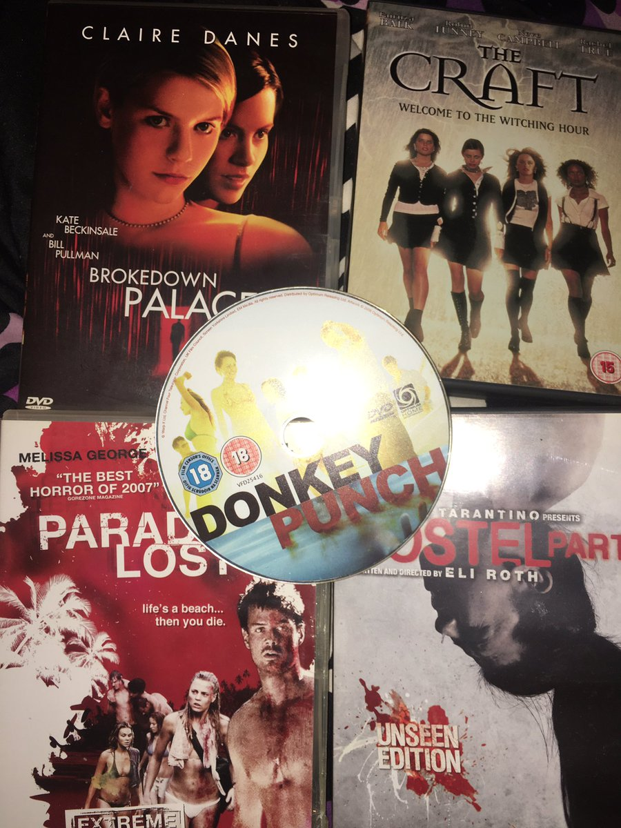 Just went through my #Boxes of #Old #Movies #DVDs my faves ! Was searching and found some #epic ones ! #Horror xxx I'm old fashioned I buy awful horror and old and new they ain't on #Netflix #Sky #Disney forever x so many I love x remember use to burn cds and music no more I buy https://t.co/PxdxCNAJcx