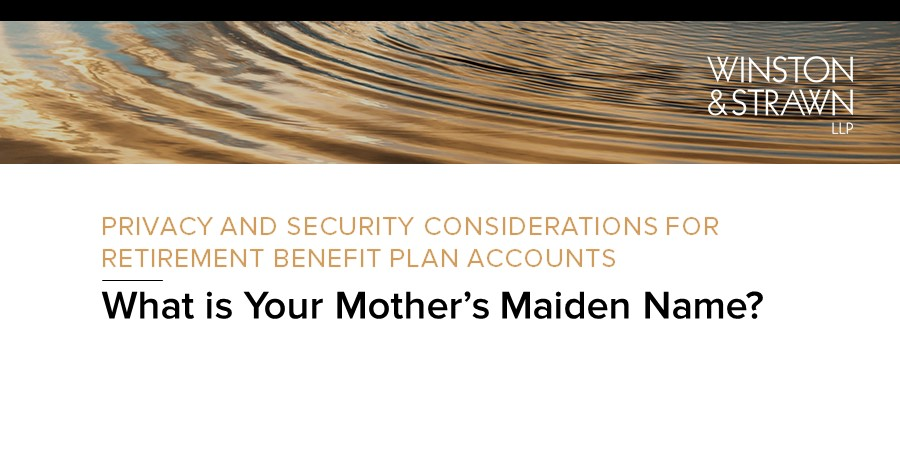 ICYMI: A recording of our recent webinar on the current #privacy and security trends affecting retirement benefit plans is available here: https://t.co/vwrphlhynZ https://t.co/ie2MA6bCIq