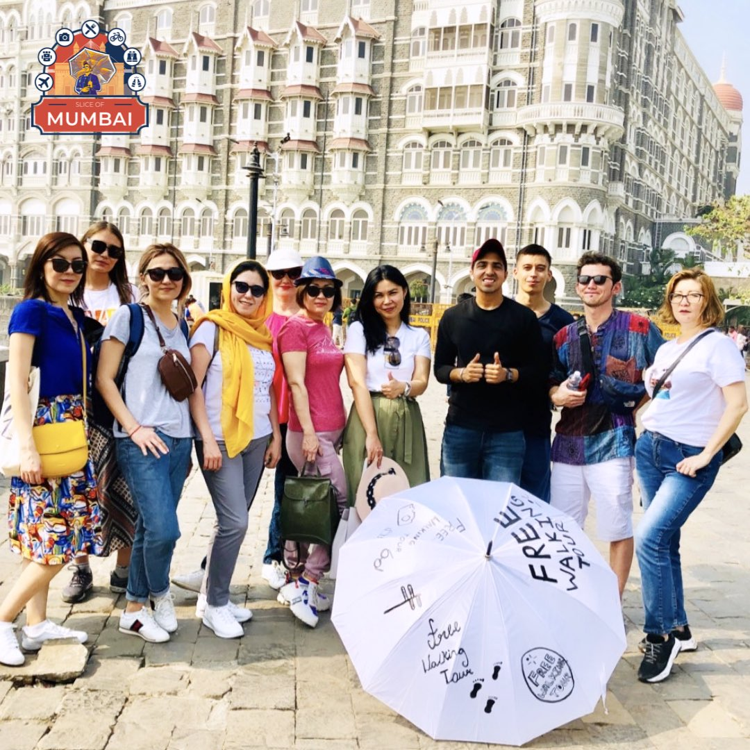 We will soon start our services of our free walking tours in Mumbai. With us you get a chance to know the city in a better way with more insight.  Sharing a glimpse of our free walking tour! #throwback🔙   #freewalkingtours #mumbaistreettour #sliceofmumbai #travel https://t.co/lhP4a3uPJh