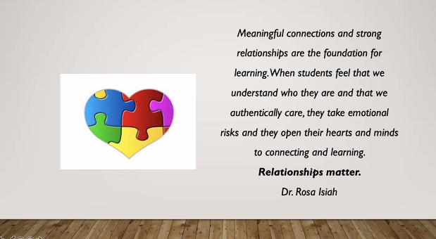 Relationships matter! Thank you again @RosaIsiah for the phenomenal afternoon of learning! #fmsteach #leadlap #MLDSchat #weleaded https://t.co/2nkEZsFYlO