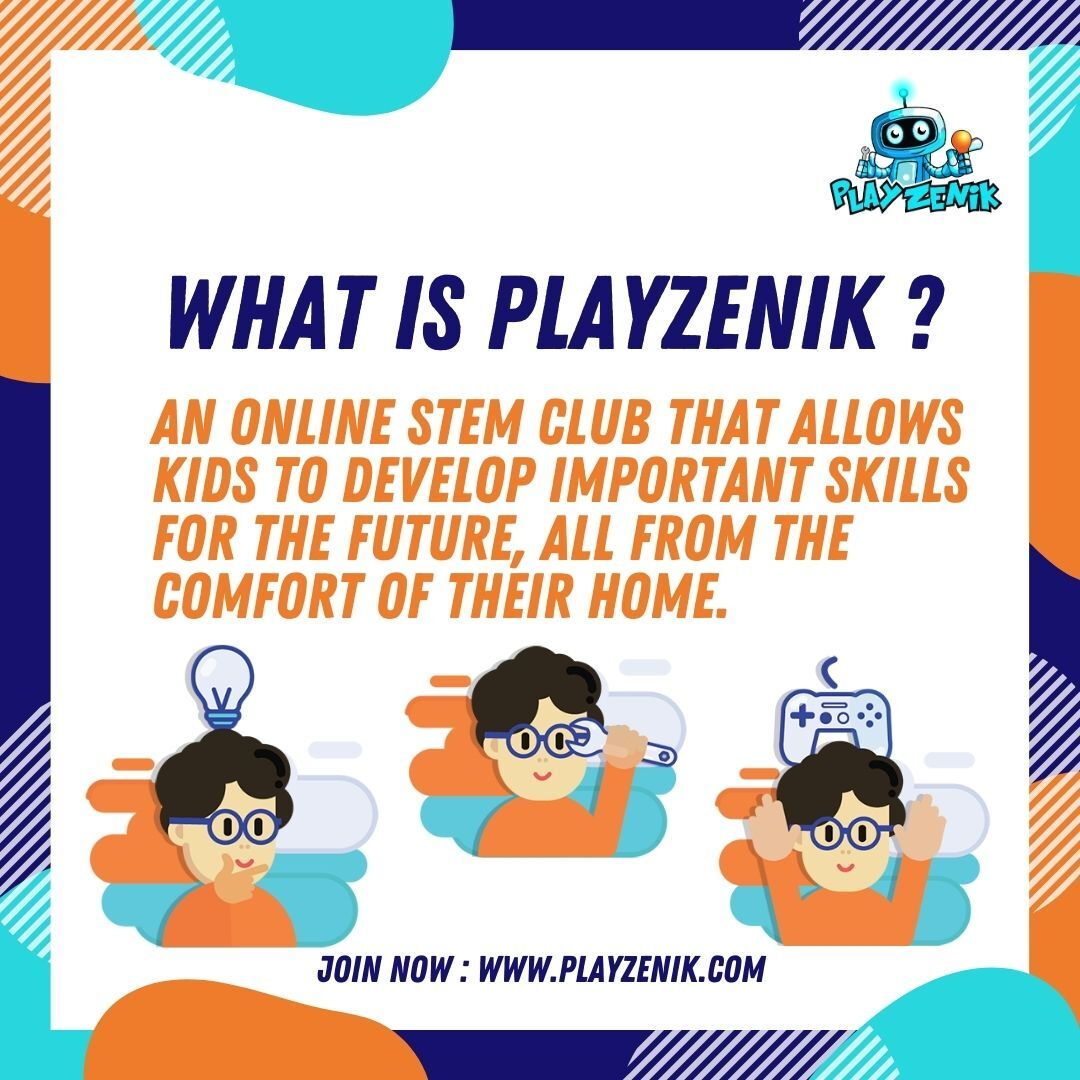 Playzenik is an innovative Learn-Build-Play environment allows them to learn topics, build projects and have fun while playing games. Visit : https://t.co/FNq8XdOmnU   #toronto #GTA #playzenik #technology #STEM #STEMEducation #Education #subscribe #subscription #canada #ontario https://t.co/hRdjo9L5au