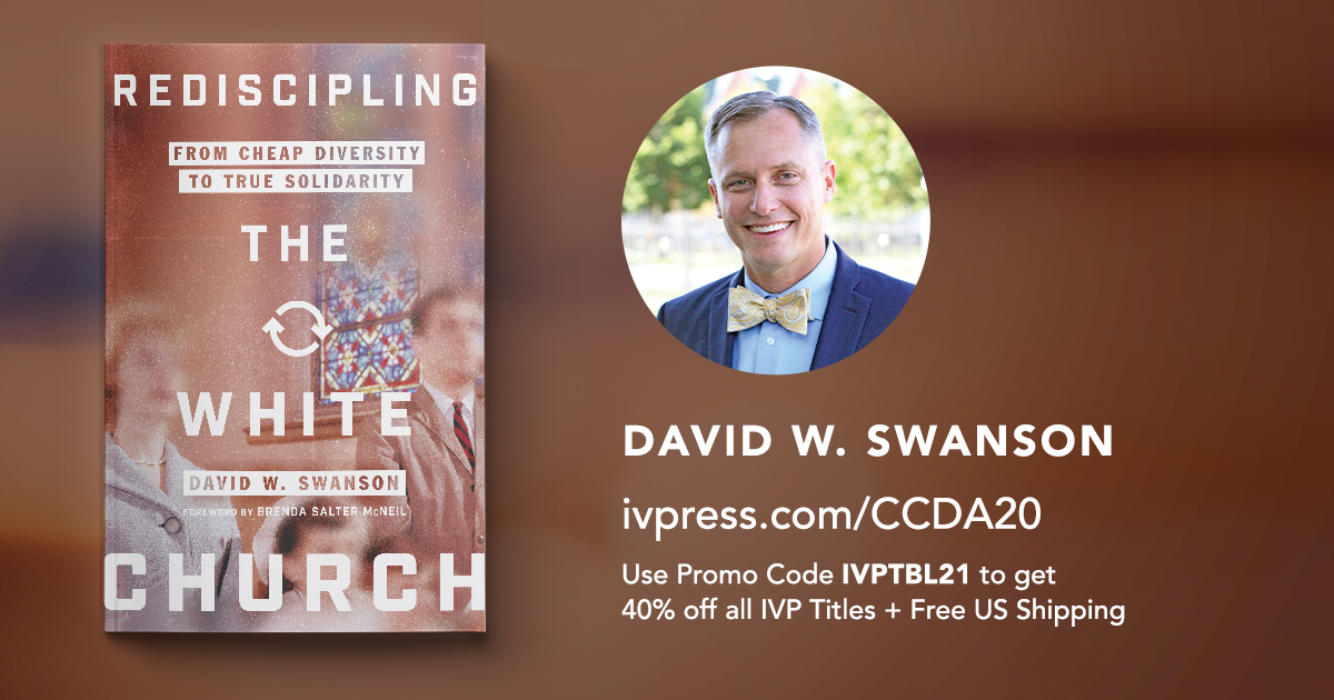 This weekend, we have the opportunity to learn from Christian community development leaders, like author @davidswanson at the Virtual #CCDACollective! @iamccda   Don't miss out on the 40% off deal at our virtual book table. save at https://t.co/NVRkfuuPxE. https://t.co/9wtw1SyrU7