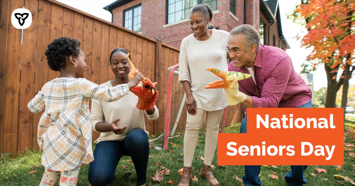 Today is #NationalSeniorsDay & the 30th Anniversary of the International Day of Older Persons. Let's celebrate the achievements of older Ontarians who have spent their lives making #Ontario the best province in the best country in the world: https://t.co/DdmBWuWILn #StayConnected https://t.co/zUDH0w6mUr