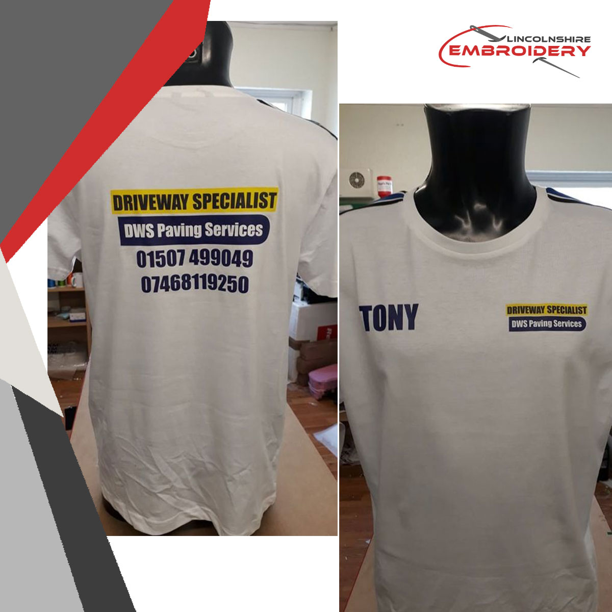 You can also have your workwear printed by us like this customer! Printing and embroidery have various benefits, we'll chat with you which one suits your order better 🙌 #corporatewear #branding #customisation #workwear #uniform #embroidery #lincsconnect #shoplocal #lincolnshire https://t.co/QhnZ4crlVN