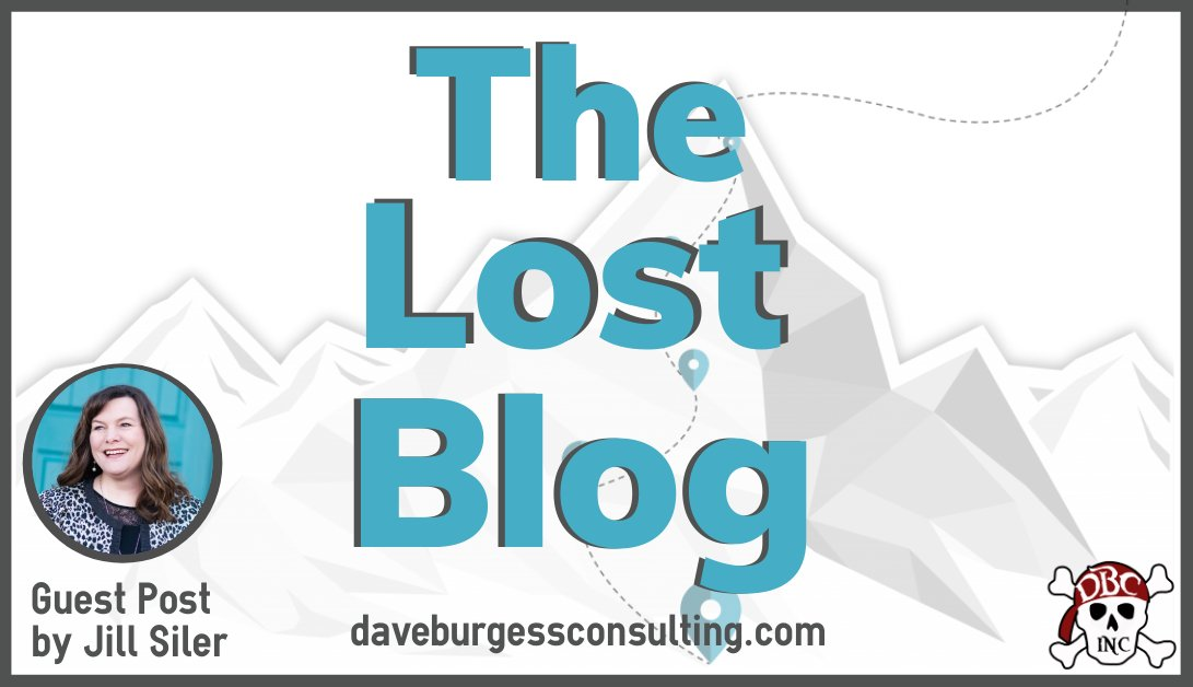 Guest Post by Jill Siler The Lost Blog So inspirational and timely! ➡️ https://t.co/s8YD0cEF5k  📖 https://t.co/XWxZ1H11H8 #tlap #LeadLAP #dbcincbooks @burgessdave @TaraMartinEDU @burgess_shelley Dave Burgess @jillmsiler https://t.co/iNwpma69gW