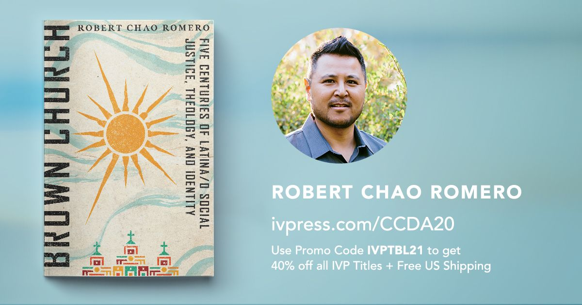 Looking forward to learning from author @ProfeChaoRomero at @iamccda's virtual conference!  Don't forget to check out the 40% off discount at the IVP Virtual Book Table at https://t.co/NVRkfuuPxE. #CCDACollective https://t.co/oaMHARatBm
