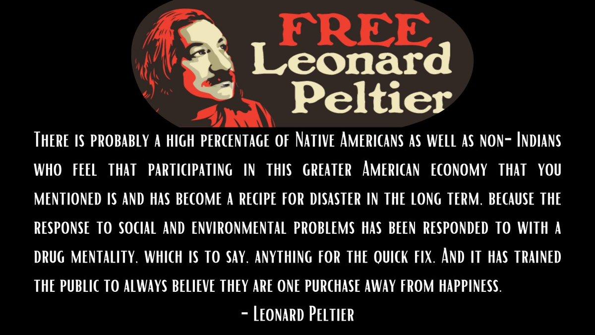 #FreeLeonardPeltier https://t.co/UYjlFr4nwG