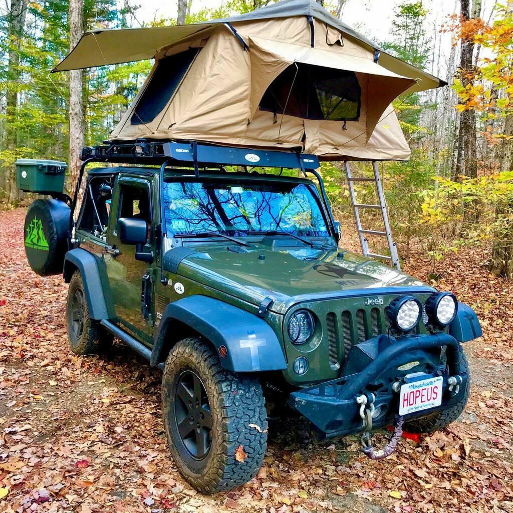 Found a spot early & easy.  . . . . . . . . . .  #jeeps #jeep #wrangler #jeepwrangler #jk #willy #willys  #since1941 #willysjeep #jeepfam #itsajeepthing #camping  #jeepjku #jku #roadtrip #overlanding #jeeplife #willysjeep #willystruck #jeepfriends #jeepfamily #jeepfam #offro… https://t.co/04PCGFU12M