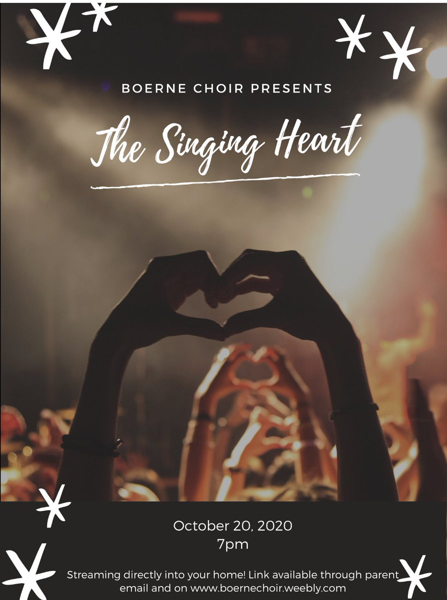 The Singing Heart! Link available October 19. #alwayssinging @BoerneFineArts @Boernehs https://t.co/JcH1br0KNu