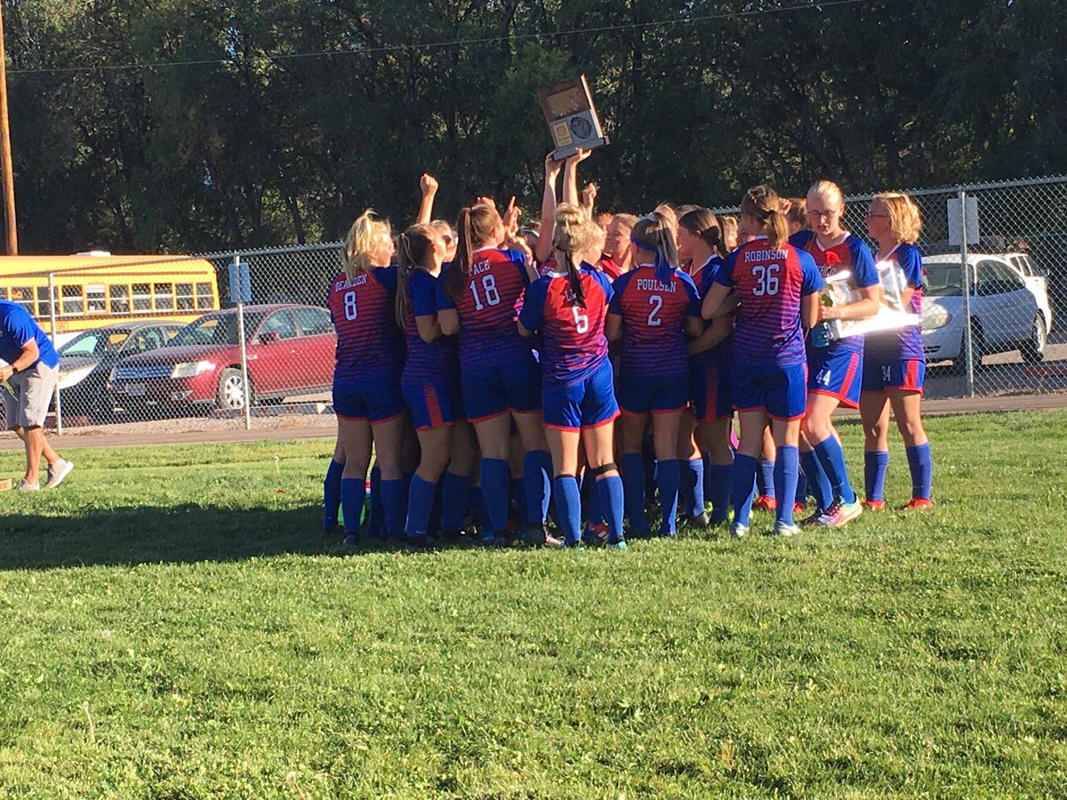 This awesome group of Lady Cat soccer ⚽️ players are region champs!!!