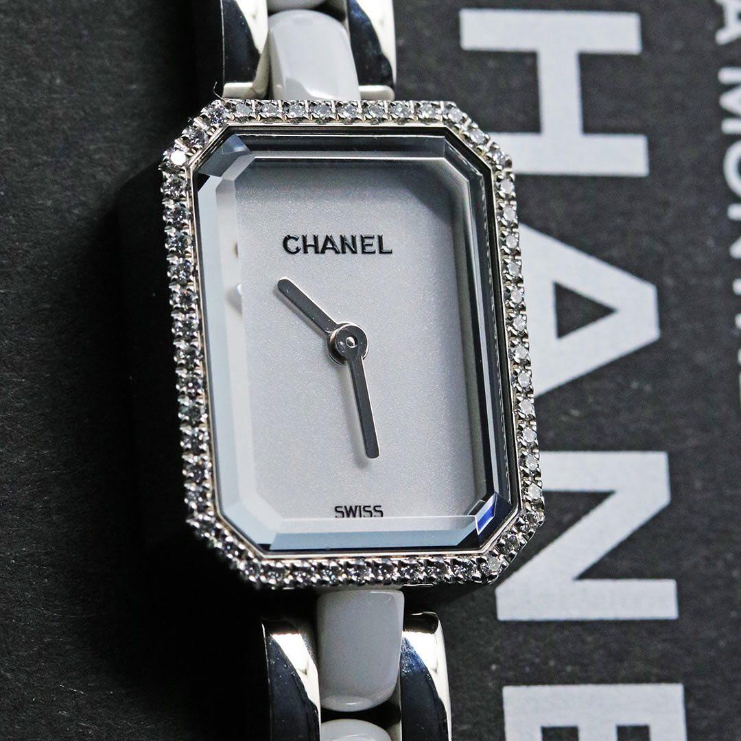 CHANEL Premiere Triple Bracelet H3059  ベゼルには52個のダイヤモンドをセッテイングし、透明感ある輝きがお手元を明るく演出します。    #kyotoya78 #京都屋 #質屋 #CHANEL #CHANELPremiere #H3059 #watchfam #香奈儿 #Kyotoya #時計好きな人と繋がりたい #時計怪獣集まれ