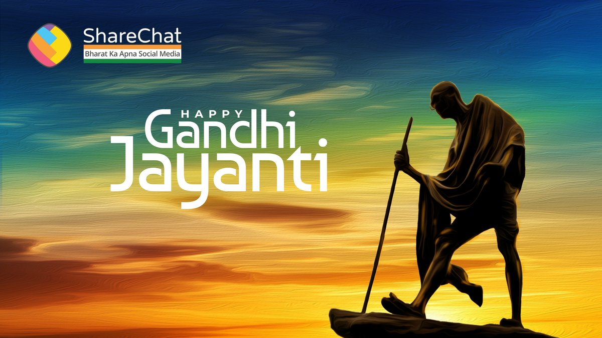"""""""You may never know what results come of your actions, but if you do nothing, there will be no results"""" - Mahatma Gandhi  Remembering our Father of the Nation on his birth anniversary. Happy Gandhi Jayanti.   #MahatmaGandhi #GandhiJayanti https://t.co/xHUppKVQAu"""