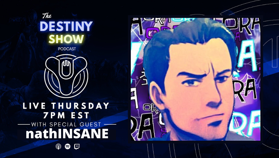 TheDestinyShow - Ears up Guardians. A new episode is here with @nathINSANE. This week we discuss:  👉 Interview w. nathINSANE 👉 Festival of the Lost 2020 👉 The State of Destiny 2 👉 TWAB  Listen: 👉  🎙️ Links: 👉  🔥  #TheDestinyShow #DestinyPodcast