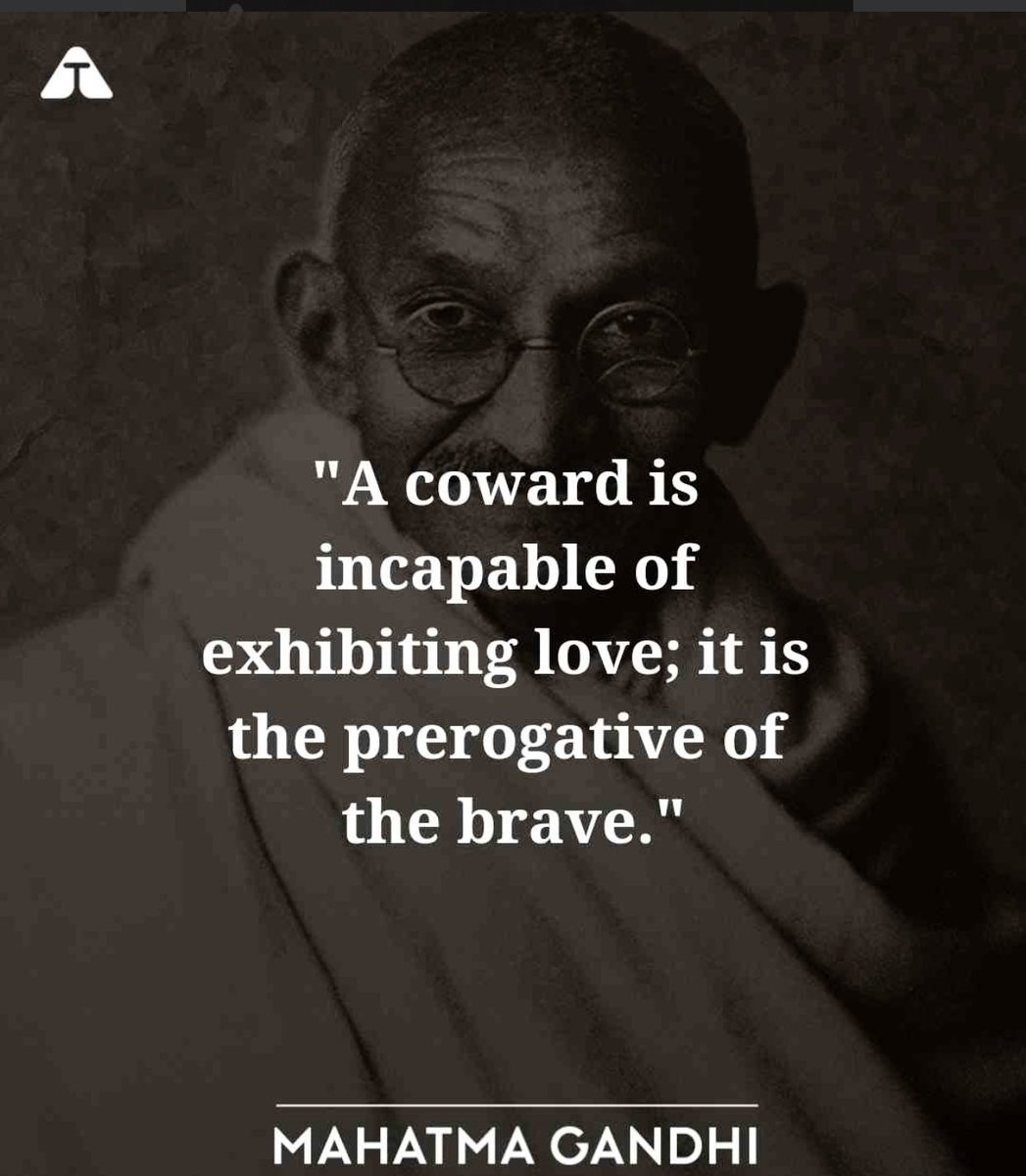 May we find the strength to love and not lose us to hate .. #GandhiJayanti  🙏 https://t.co/7zcgNkIhUu