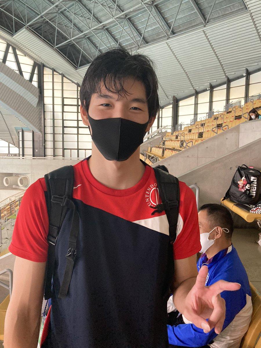 """順天堂大学水泳部競泳部門 on Twitter: """"4×100mフリーリレー 女子 3-55 ..."""