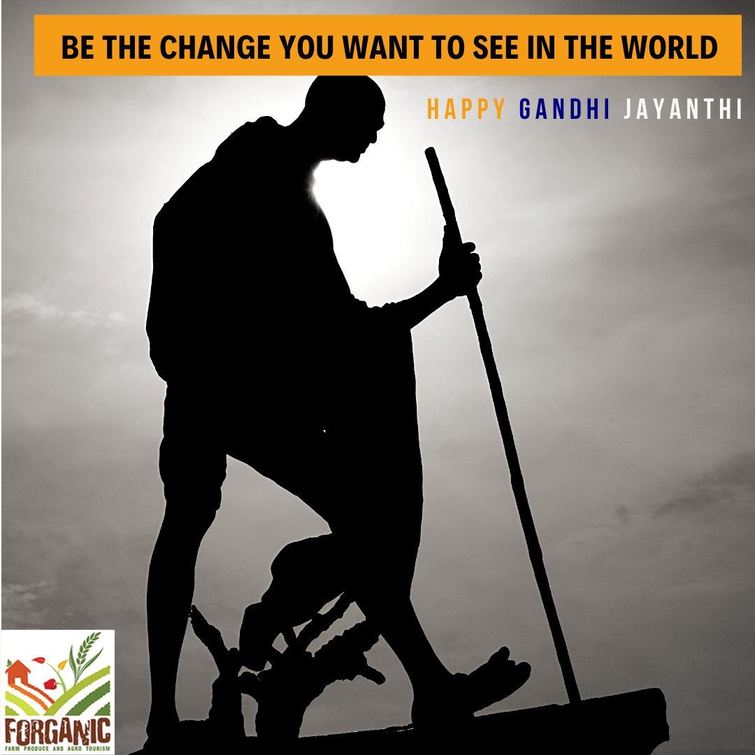 Happy Mahatma Gandhi Jayanthi. #gandhijayanthi #india #staycation #resort #forganicfarm #weekend #patriotic https://t.co/xSxN6Xx8DW