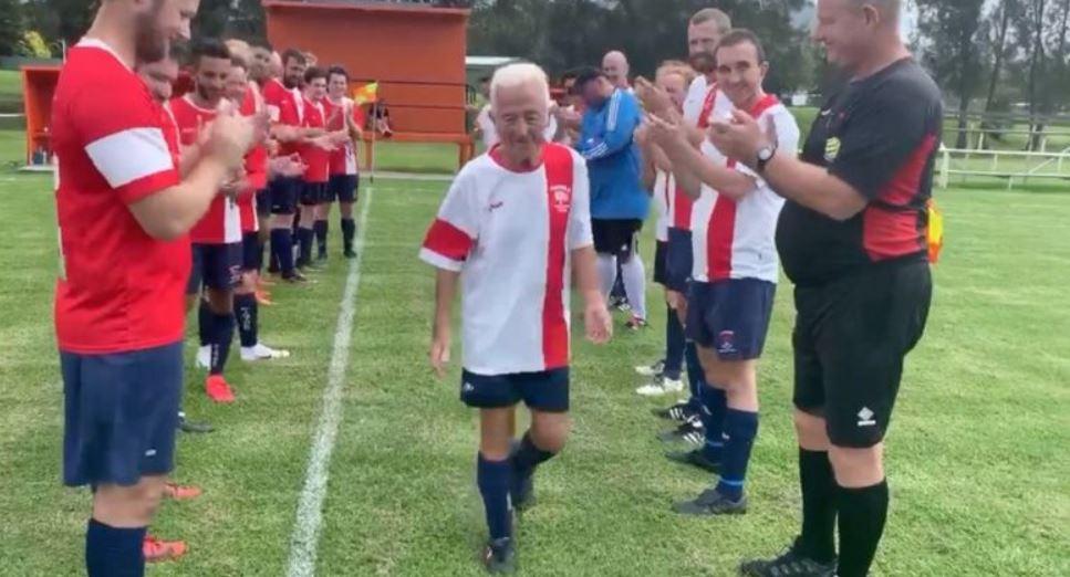 Meet the 80-year-old footballer preparing to retire...  Here 👉  #bbcfootball