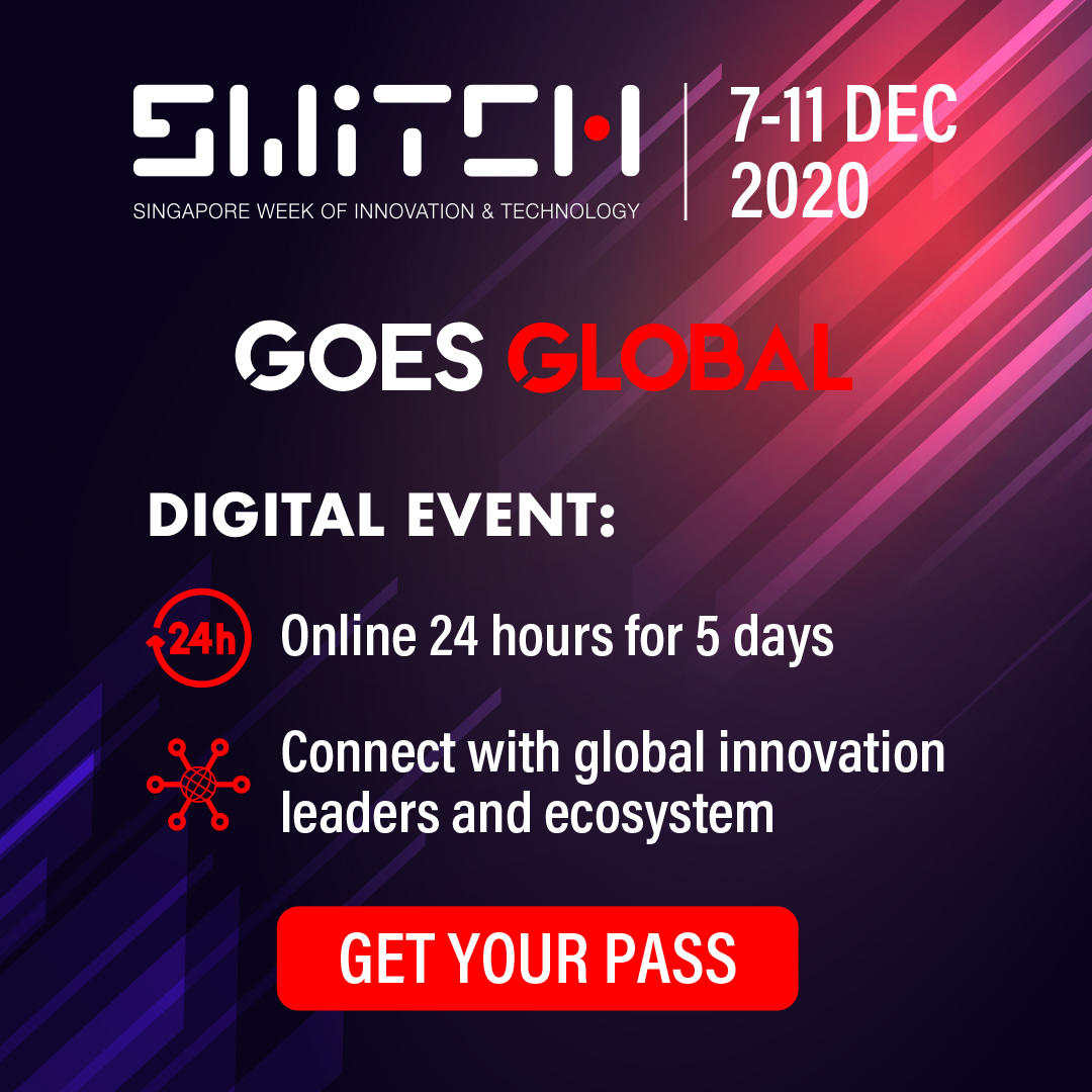 Join us at SWITCH this year from 7-11 December for and be part of a week of inspiring dialogues with global leaders in innovation and technology. Registration is now open: https://t.co/n49zYyaswS  #SWITCHSingapore #SFFxSWITCH https://t.co/eByv2T2A4g