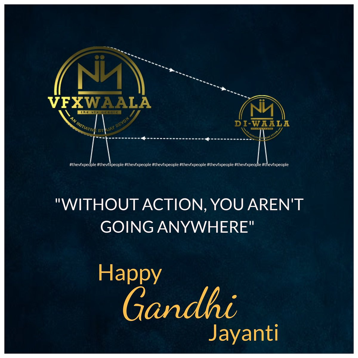 Remembering our father of the nation who taught us where there is love there is life. We are forever grateful for the sacrifices he has made for the nation. 🇮🇳 #HappyGandhiJayanti #gandhijayanthi2020