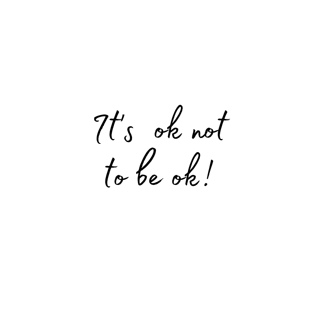 I say this often and I will continue to say this ..... It's ok not to be ok at times.   There are so many difficult unknown situations right now and it's ok to feel a little unsettled.   If you are feeling confused and upset, that's ok too. https://t.co/GB4XILTQfN