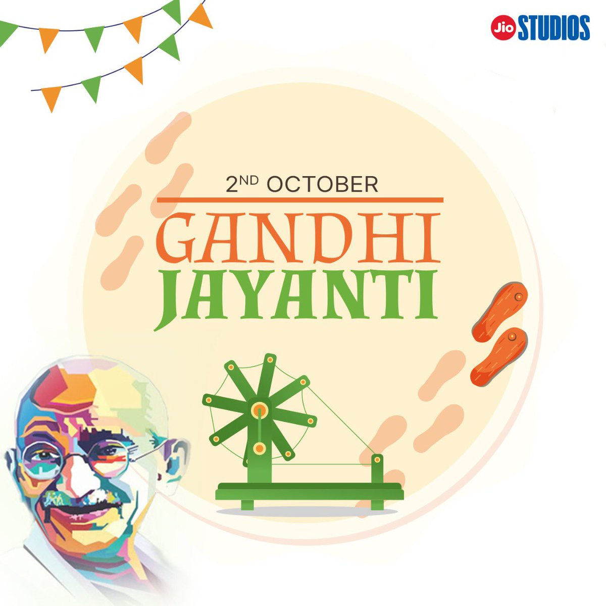 Remembering the Father of the Nation today. Happy Gandhi Jayanti,may the spirit of truth and non violence be with us always.