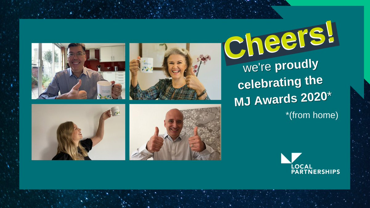 We're very proud to be sponsoring and celebrating our colleagues across the public sector today for the virtual #MJAwards2020 🏆🎉  It's 2pm, which can only mean one thing... here we go!   Cheers @MJMikeBurton @HeatheratTheMJ @themjcouk!