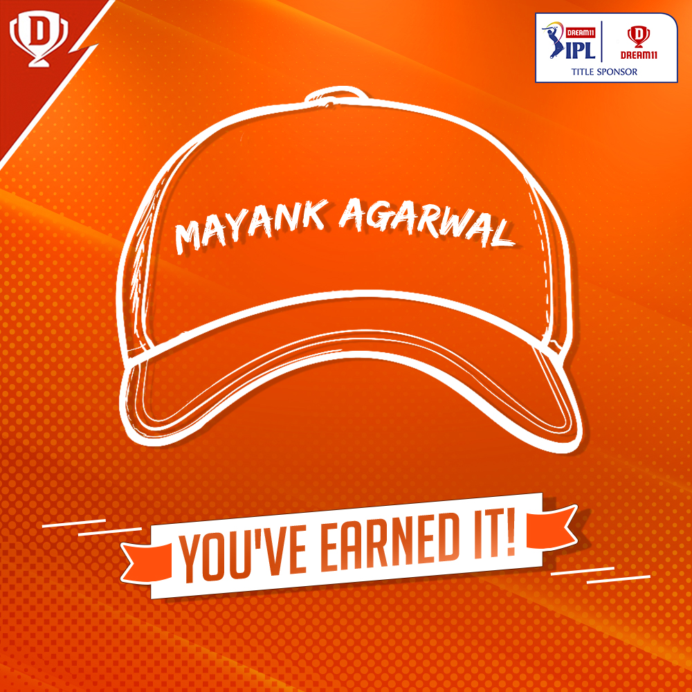Orange is the new Red! 🦁  @lionsdenkxip seem to be having a healthy contest of their own! 😉 @mayankcricket surpasses his skipper to become the new holder of the Orange Cap 🧢 in the #Dream11IPL! 👏  #YahanSabSameHai #YeApnaGameHai @IPL