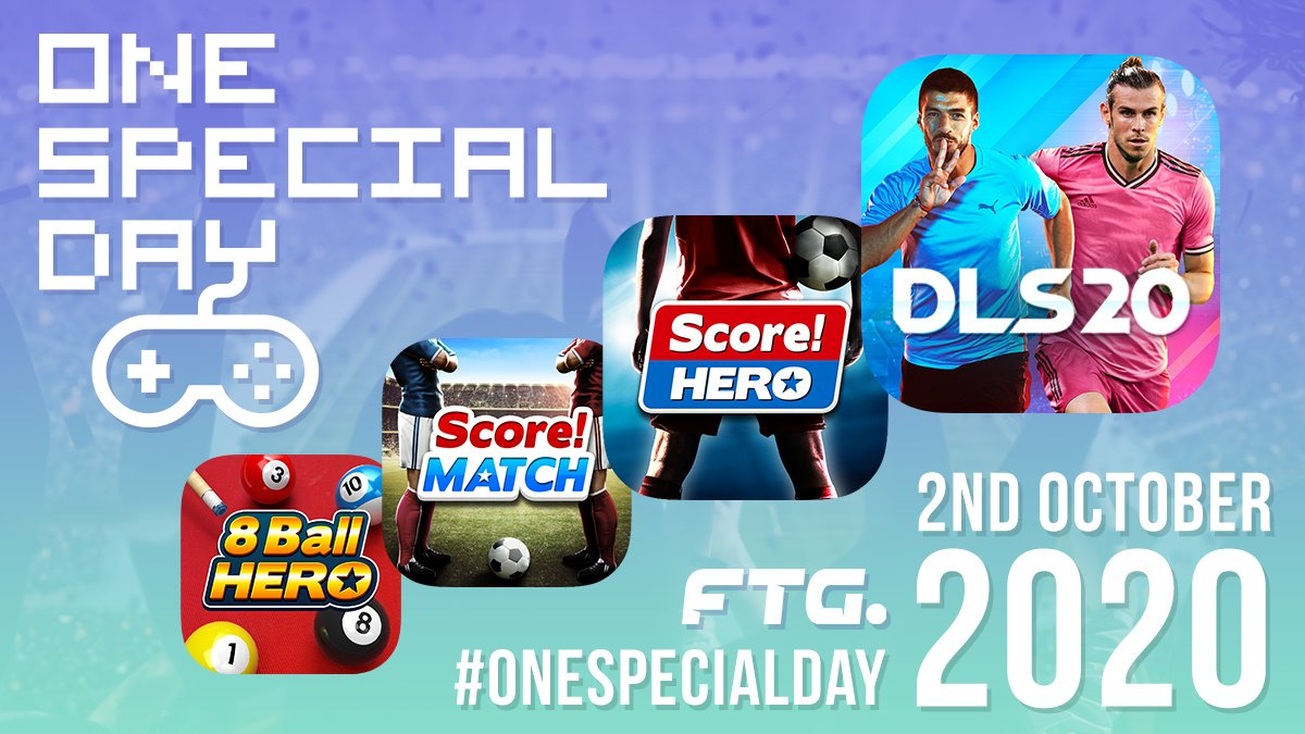 Today is #OneSpecialDay! We're once again supporting @SpecialEffect 's efforts to bring joy to gamers with physical disabilities by donating all of today's UK revenue from our games. Let's make it a great one! 🎮