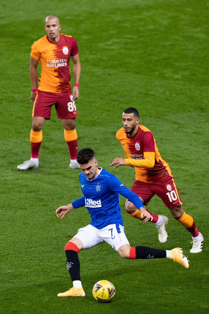 Last night was really special, playing against the team that means so much to my family and I (@GalatasaraySK ) and qualifying for the group stages of @europaleague. Happy to help the team get those european nights back at Ibrox.💙  More to come... @RangersFC @EuropaLeague https://t.co/jH56FwFh2R